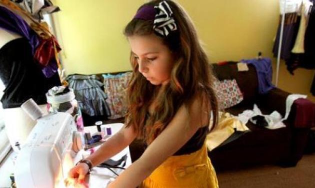 10χρονη σχεδιάστρια μόδας! | tlife.gr