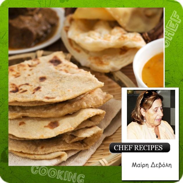 Τσαπάτι! Το ινδικό ψωμί…
