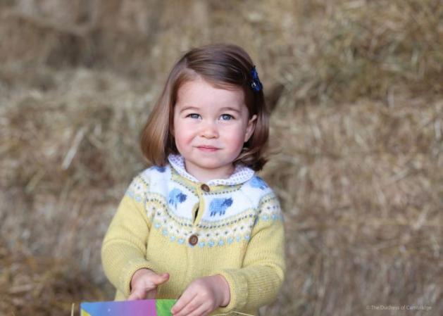 Πριγκίπισσα Charlotte: Έγινε 2 χρόνων και μοιάζει εκπληκτικά στην βασίλισσα Ελισάβετ!