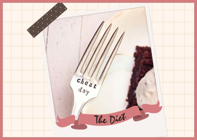 The Cheater's Diet! Η δίαιτα που τα Σαββατοκύριακα μπορείς να τρως ό,τι -μα ό,τι- θέλεις…