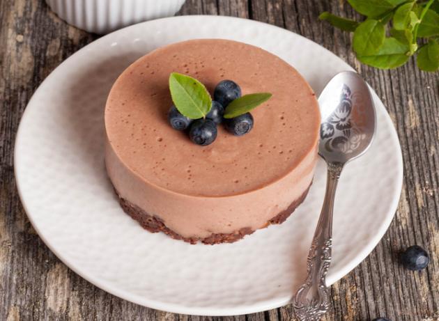 Cheesecake τριπλής σοκολάτας: Κι όμως, είναι light!