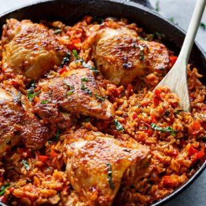 Μεσογειακό γιουβέτσι με κοτόπουλο
