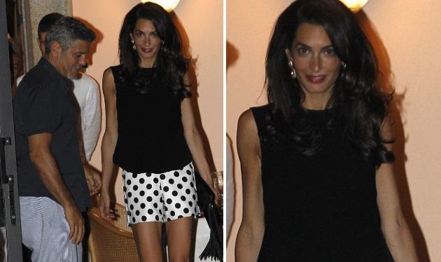 George Clooney – Amal Alamuddin: Χέρι χέρι σε ρομαντική βόλτα στην Ιταλία! Φωτογραφίες | tlife.gr