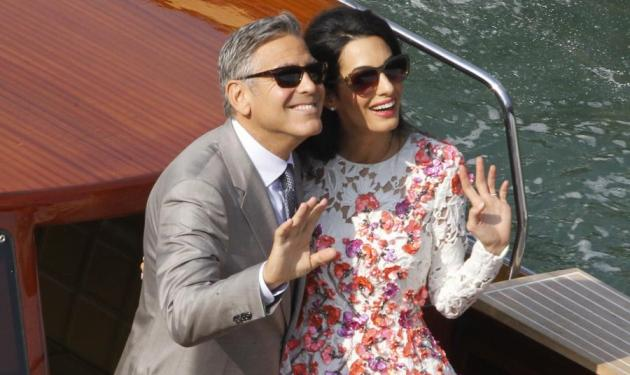 George Clooney – Amal Alamuddin: Σκέφτονται να υιοθετήσουν ένα ορφανό παιδί!