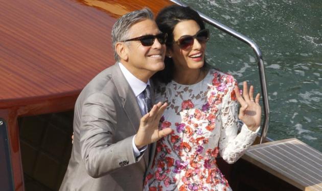 Σήμερα ο πολιτικός γάμος του George Clooney – Διαδηλωτές θα τους περιμένουν έξω από το Δημαρχείο!