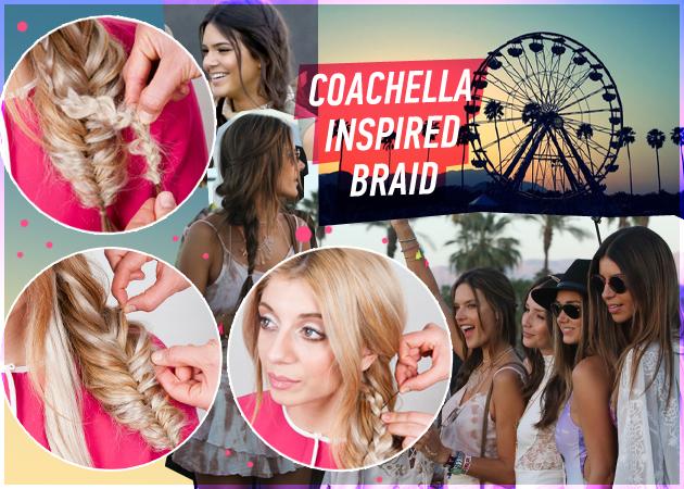 Πώς να κάνεις την 2 σε 1 πλεξίδα με έμπνευση από το Coachella! | tlife.gr