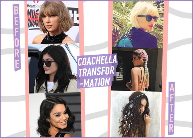 Είναι άλλες! Οι καλύτερες μεταμορφώσεις των stars για το Coachella! | tlife.gr