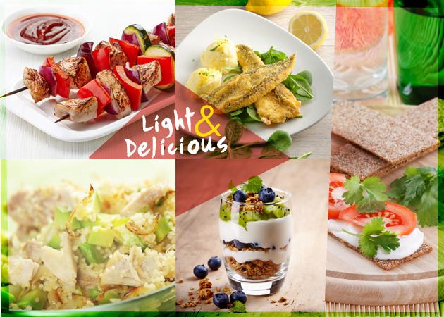 Combo Recipes! Πέντε light συνταγές με λιγότερες από 300 θερμίδες