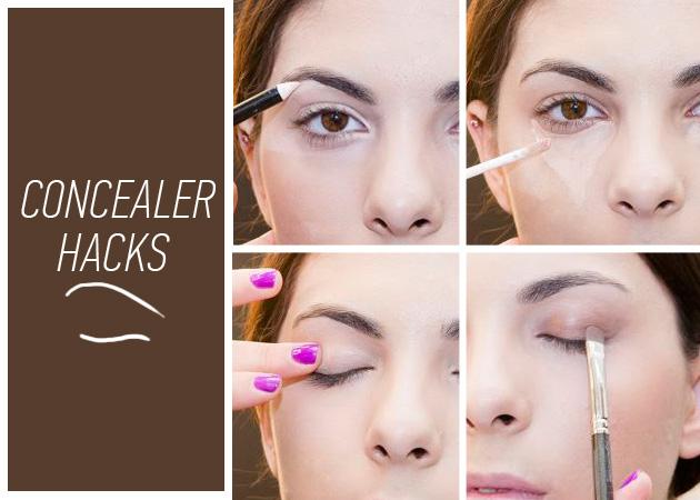 4 εντελώς διαφορετικοί τρόποι να χρησιμοποιήσεις το concealer!