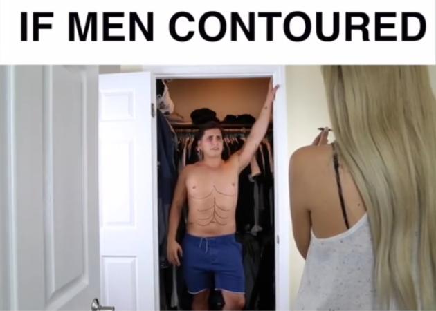 Τι θα συνέβαινε αν οι άντρες έκαναν contouring! | tlife.gr