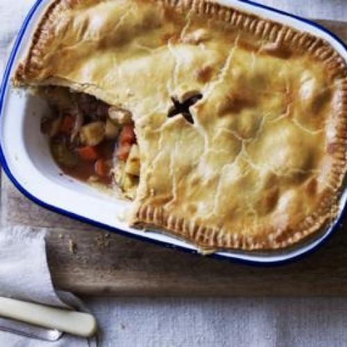 Πίτα με λαχανικά και κορν μπιφ   tlife.gr