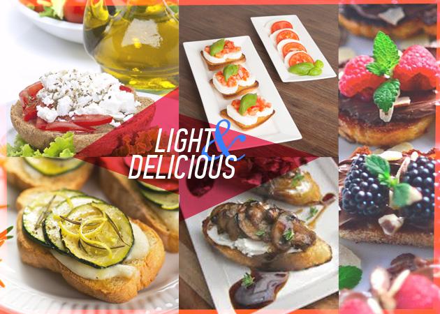 Ντάκος, crostini ή μπρουσκέτα! Ιδέες για summer snacks με λιγότερες από 260 θερμίδες