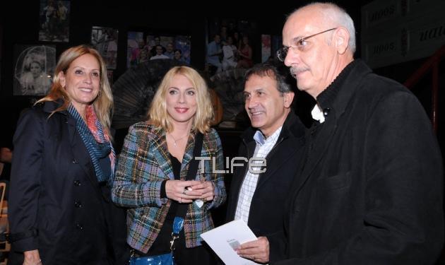 Γιώργος & Άννα Νταλάρα: Βραδινή έξοδος στο θέατρο! Φωτογραφίες   tlife.gr