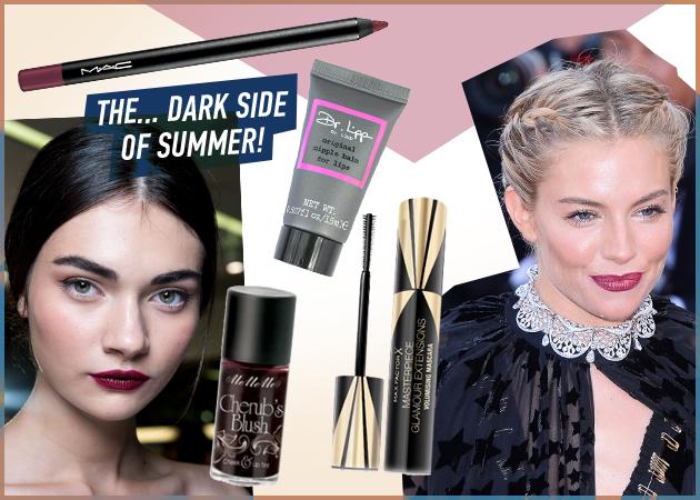 Κι όμως! Το σκούρο κραγιόν είναι must γι'αυτό το καλοκαίρι! Πώς να το φορέσεις σωστά!