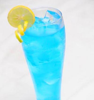 Deep Blue Mocktail