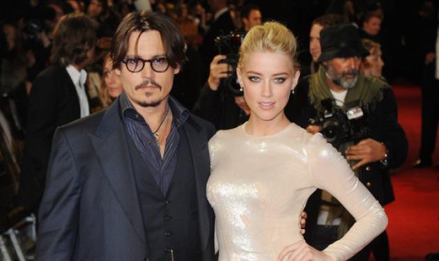 J. Depp: Ο μυστικός αρραβώνας του με την Α. Heard! Δες το μονόπετρο που της χάρισε