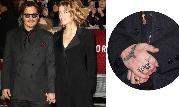 Μυστικός γάμος για τον Johnny Depp και την Amber Heard;