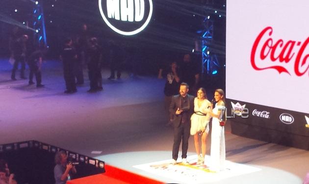 Δέσποινα Βανδή: Η εντυπωσιακή εμφάνιση στη σκηνή των Mad VMA 2015 και το μήνυμα για τις πολιτικές εξελίξεις! | tlife.gr
