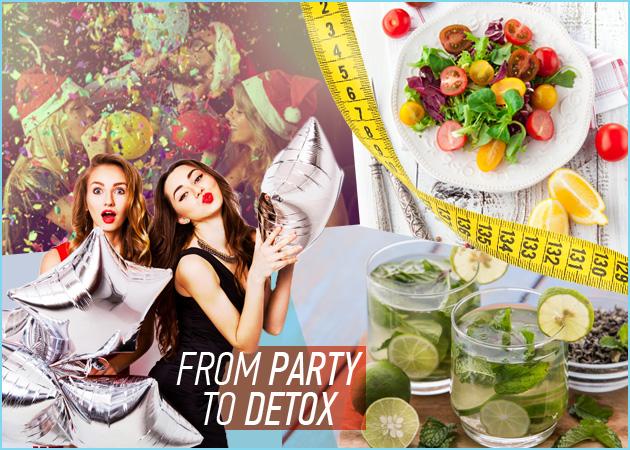 Δίαιτα αποτοξίνωσης: Χάσε τα κιλά των γιορτών με αυτό το διατροφικό detox πρόγραμμα