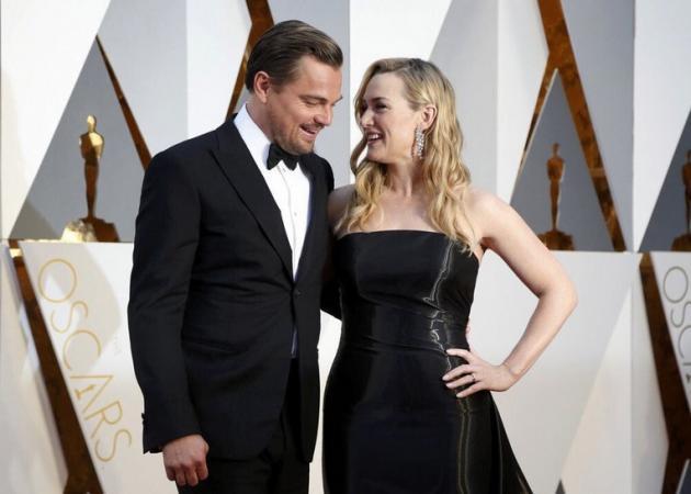Όσκαρ 2016: Η συνάντηση του Leonardo DiCaprio με την Kate Winslet στο κόκκινο χαλί! | tlife.gr