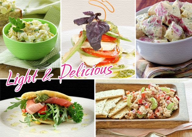 Σαλάτες από διάσημες δίαιτες! Συνταγές με λιγότερες από 260 θερμίδες…   tlife.gr