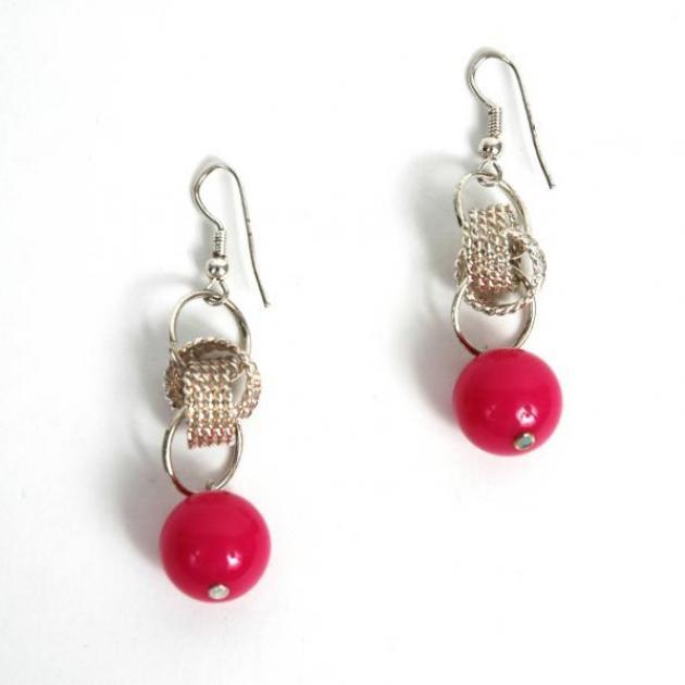 15 | Κόκκινα σκουλαρίκια Doca