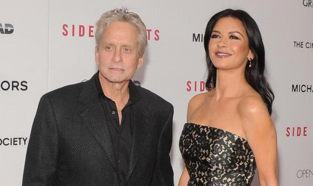 Μ. Douglas: Επιμένει πως δεν χώρισε με την Catherine Zeta-Jones!