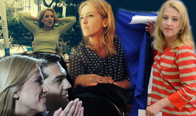 Ρένα Δούρου: Η ξανθιά δυναμική πολιτικός της αριστεράς. Είναι κόρη αστυνομικού και μεγάλωσε στο Αιγάλεω