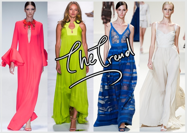 Maxi dresses! Τα μακριά φορέματα είναι must. Πως να τα φορέσεις ... cd215960b32