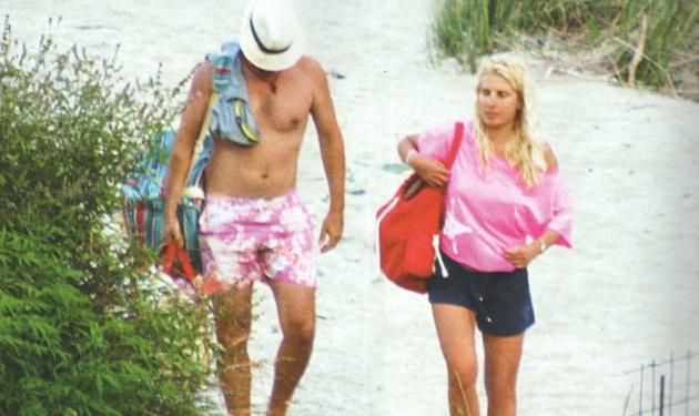 Ε. Μενεγάκη: Το καλοκαίρι της με τον Ματέο στην Άνδρο!