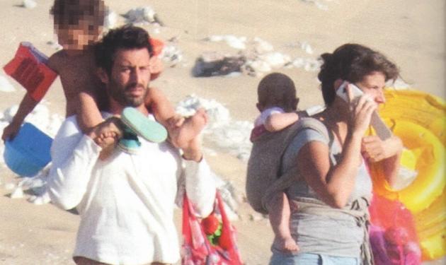 Λευτέρης Ελευθερίου: Στη Νάξο με την οικογένειά του! | tlife.gr