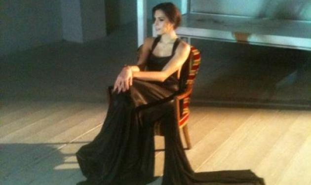 Ελ. Σπανού: Γυρίζει το νέο της video clip και ξεκαθαρίζει τη σχέση της με τον Δ. Ουγγαρέζο!