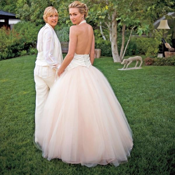 15 | Ellen DeGeneres - Portia de Rossi