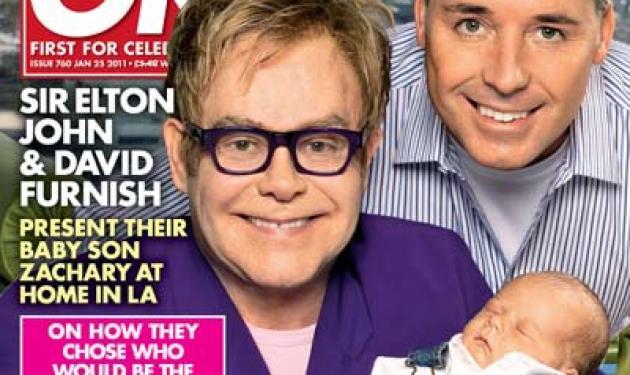 Ο σερ  Elton John, μας παρουσιάζει τον γιο του! | tlife.gr