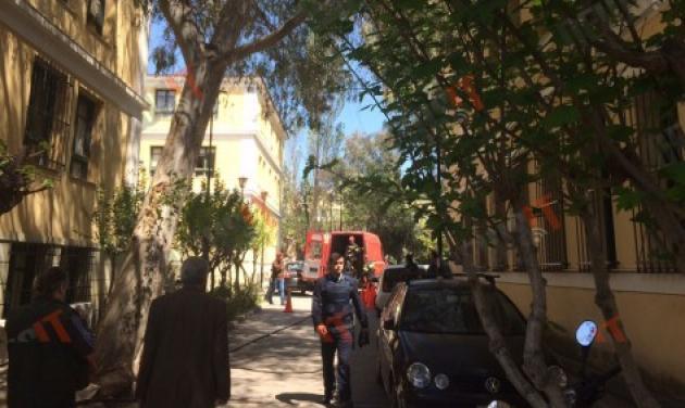 Συναγερμός στα  δικαστήρια Ευελπίδων – Υπάλληλος άνοιξε φάκελο με ύποπτη λευκή σκόνη