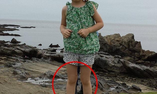 Mπορείς να διακρίνεις το φάντασμα σε αυτή τη φωτογραφία με το κοριτσάκι;