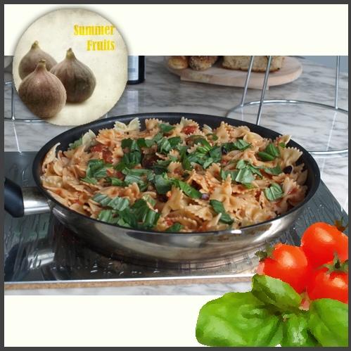 Φαρφάλε με κοτόπουλο και φρέσκα σύκα | tlife.gr
