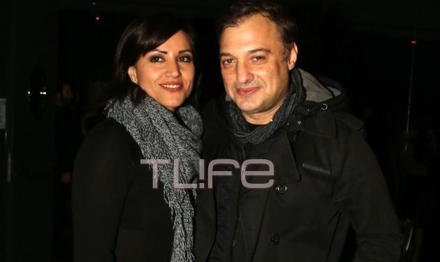 Χρήστος Φερεντίνος: Βραδιά διασκέδασης με τη σύζυγό του Σοφία Παυλίδου – Φωτογραφίες