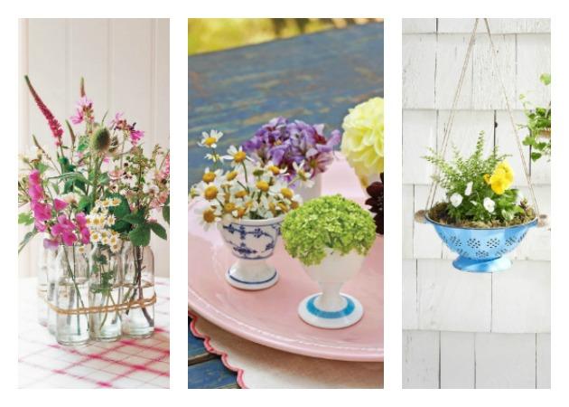 c73066de1b8 Ανοιξιάτικες διακοσμητικές ιδέες με λουλούδια χωρίς κόστος! - TLIFE