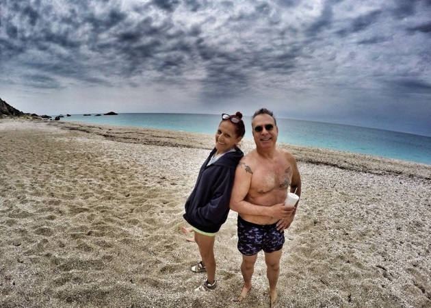 Φώτης Σεργουλόπουλος: Διακοπές με την Patricia Field στη Λευκάδα!