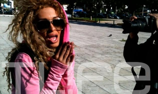 Τι κάνει η Ε. Φουρέιρα στο κέντρο της Γλυφάδας; | tlife.gr