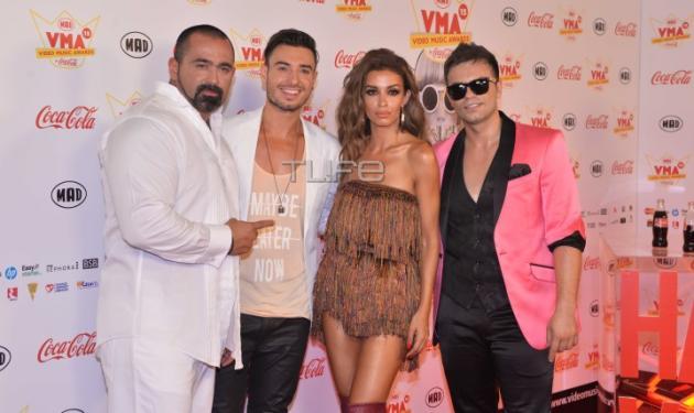 "MAD VMA 2015: Η σέξι ""συνάντηση"" της Ελένης Φουρέιρα με Claydee και Faydee στη σκηνή!"