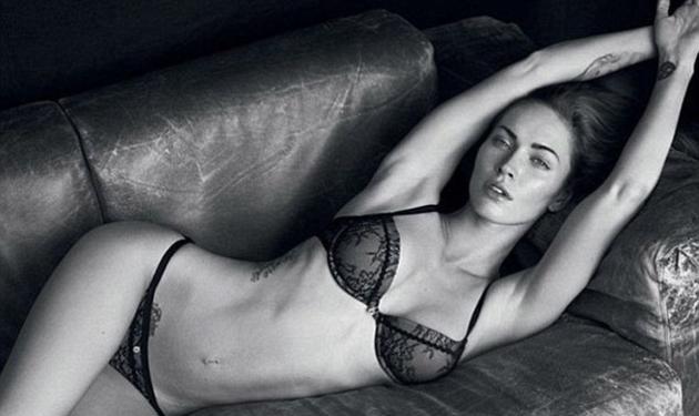 Η Megan Fox σε μια σέξυ φωτογράφηση για τα εσώρουχα Armani! | tlife.gr