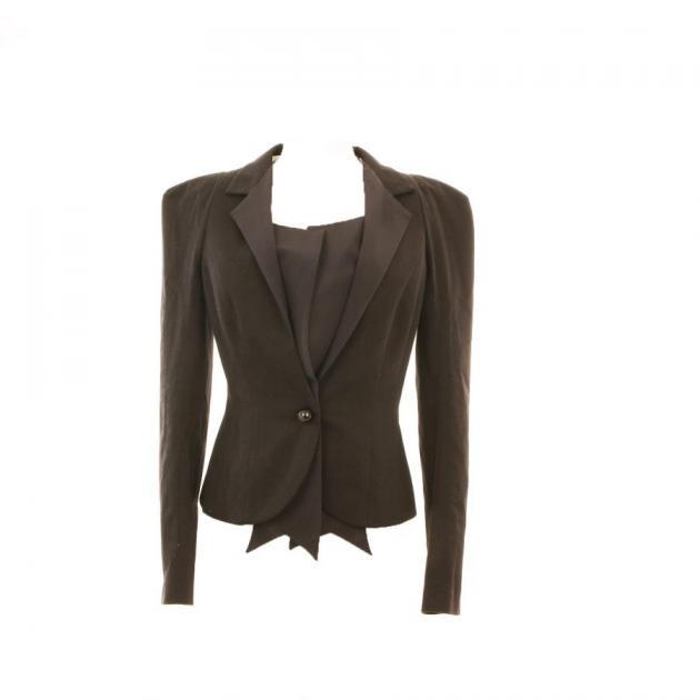 3 | Μαύρο σακάκι Frankie Morello