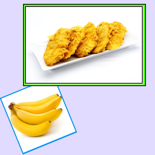 Τηγανιτές μπανάνες με μέλι