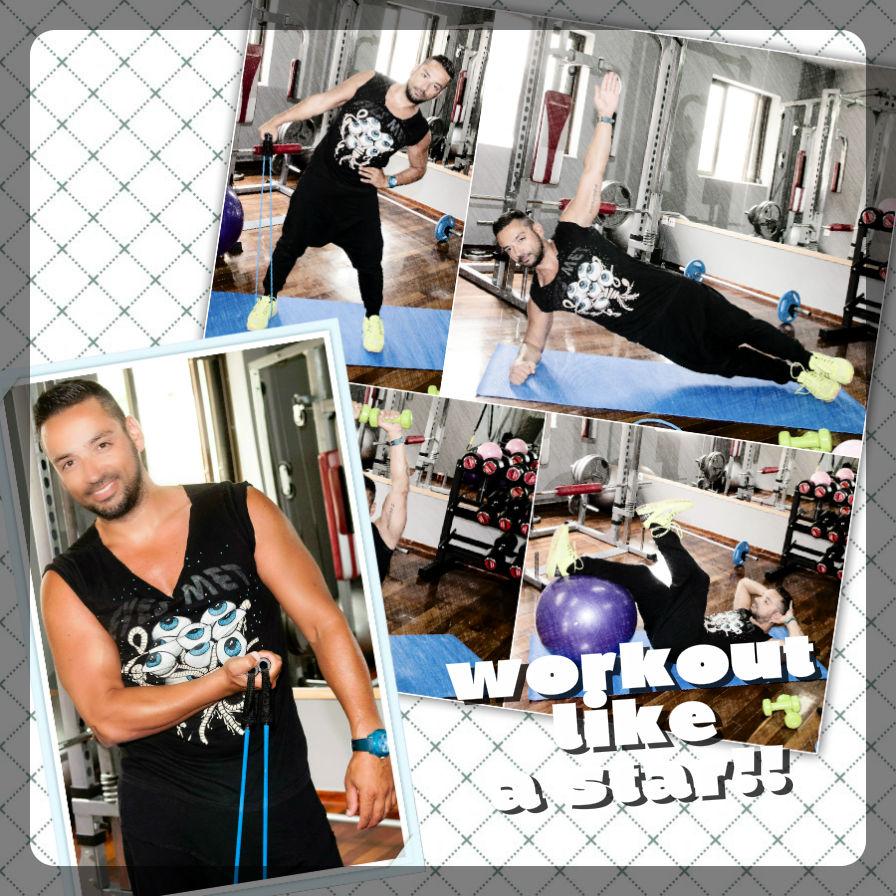 1   Κυκλική προπόνηση! Οι ασκήσεις που κάνουν οι celebrities για να διατηρούνται σε φόρμα