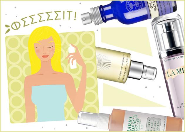 10 spray προσώπου που θα σε κρατήσουν δροσερή αυτό το καλοκαίρι! Και στην παραλία και στο γραφείο! | tlife.gr