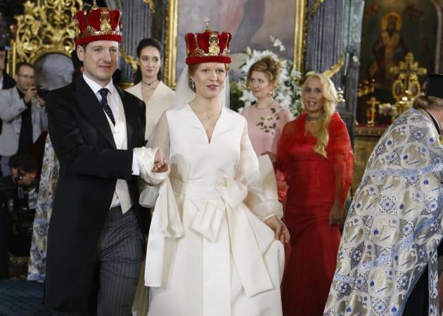 Ιστορικός γάμος στο Βελιγράδι! Ο πρίγκιπας Φίλιππος παντρεύτηκε την Danica Marinkovic [pics]