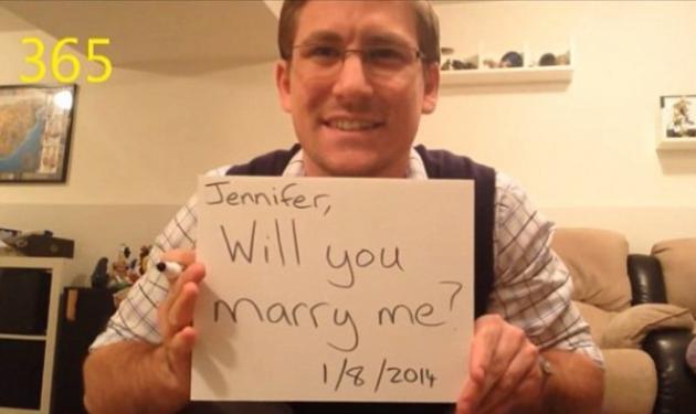 Αυτή είναι η καλύτερη πρόταση γάμου! Της ζητούσε να γίνει γυναίκα του για 1 χρόνο, χωρίς να το ξέρει! | tlife.gr