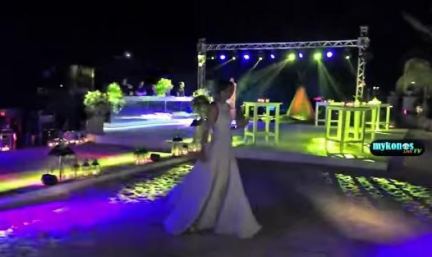 Χλιδάτος αιγυπτιακός γάμος στη Μύκονο, κόστους 500.000 ευρώ! Βίντεο
